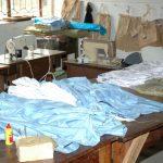 tailoring at Mbuye Uganda Africa