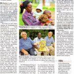 Brunnen bohren für Mbuye Farm School