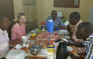 Projektvorbereitungen in Uganda